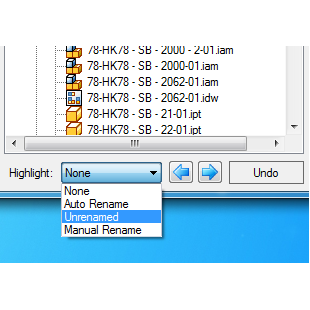 rename exclude